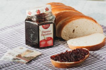Bread with jam - image gratuit #328057