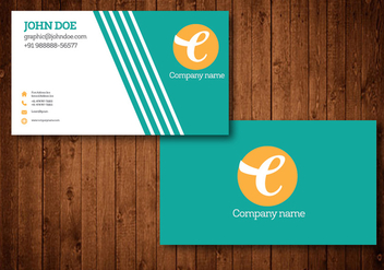 Business Card Vector Design - Free vector #328257