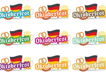Oktoberfest Vector Badges - Free vector #328857