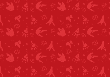 Free Dinosaur Pattern #7 - Free vector #328907