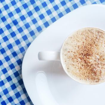 Cup of cappuccino with cinnamon - Free image #329137