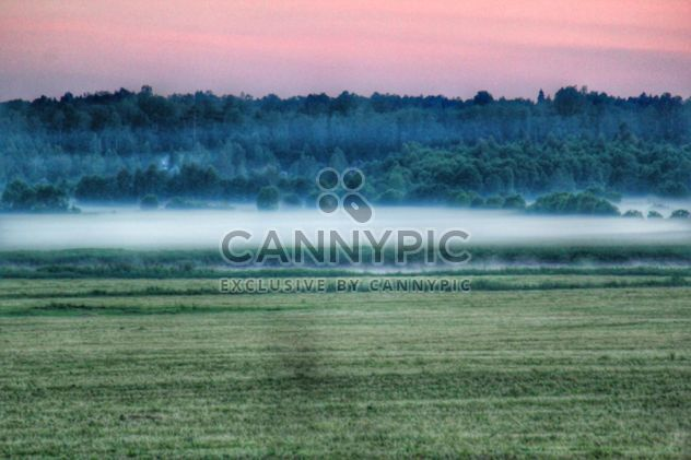 Fog over the river Stormy Leningrad region - Free image #329947