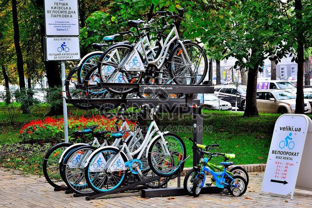 Parking for bicycles - Free image #330277