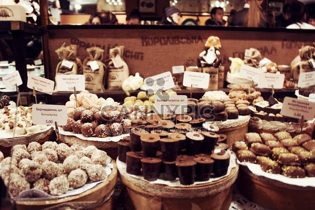 Candies in chocolate factory - Free image #330697