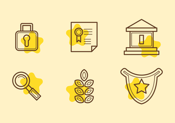 Free Law Office Vector Icons #12 - Free vector #330757
