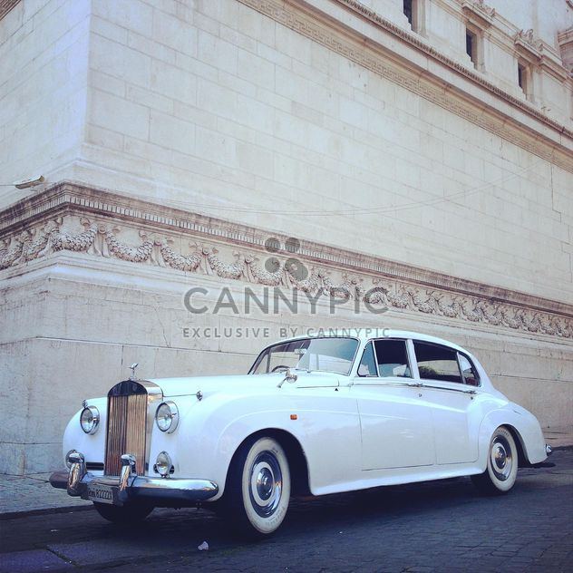 Voiture blanche Rolls Royce - Free image #331177