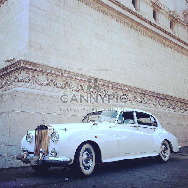 White Rolls Royce car - Free image #331177