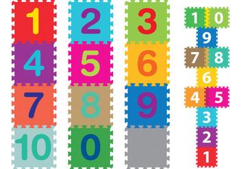 Colorful Carpets For Children - бесплатный vector #331347