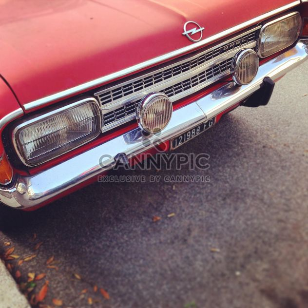 Red Opel Rekord -  image #331697 gratis