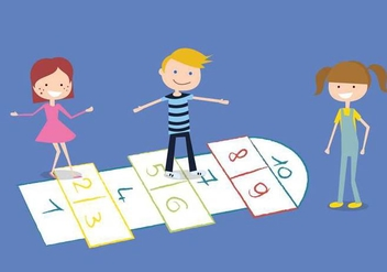 Hopscotch Free Vector - Free vector #331717