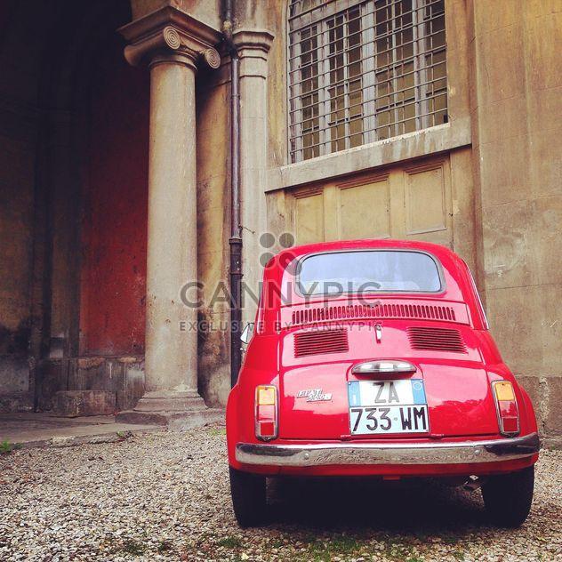 Vieille voiture Fiat 500 - image gratuit #331737