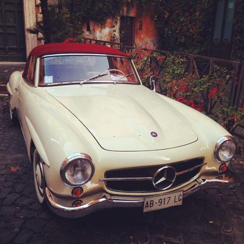 Retro Mercedes Benz - бесплатный image #331807