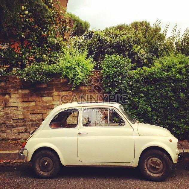 Branco Fiat 500 - Free image #331947