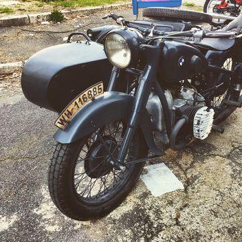 Black BMW motorbike - Kostenloses image #332187