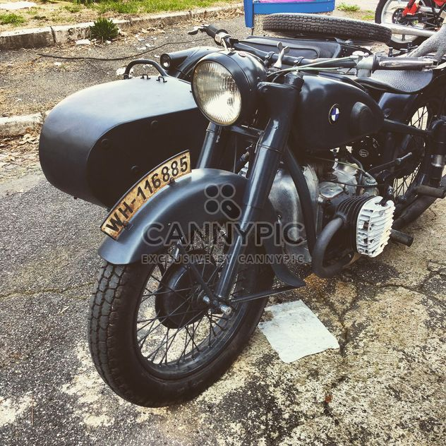 Black Bmw motorbike - Free image #332187