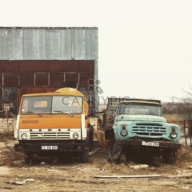 Kamaz and Zil trucks - Free image #332207