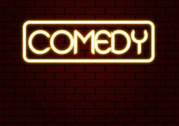 Free Comedy Neon Vector - Kostenloses vector #332667