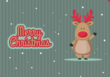 Merry Christmas vector illustration - Free vector #332697