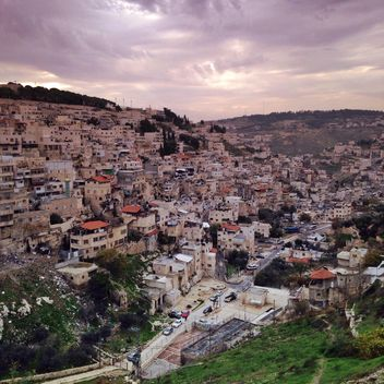 East Jerusalem from the bird's eye view - image #332847 gratis
