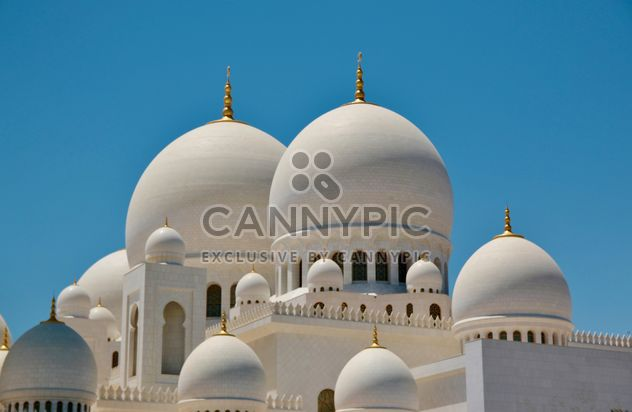 White doms of Mosque - Free image #333257