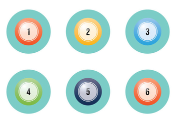 Free Lotto Balls Vector Illustration - Free vector #333317