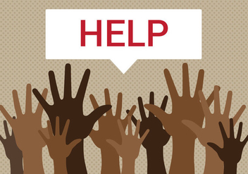 Free Refugees Need Help Vector - vector #333417 gratis