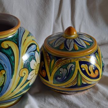 painted ceramic vases - Free image #333807