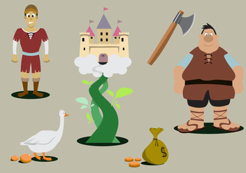Jack and the Beanstalk - vector #333897 gratis