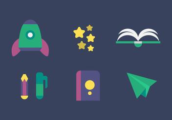 Free Fantasy Vector Icons - Kostenloses vector #333977