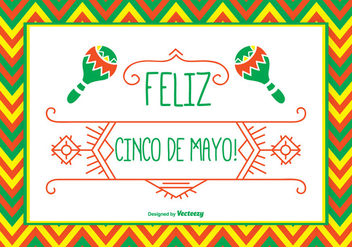 Cinco de Mayo Illustration - Kostenloses vector #333997