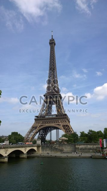 Eiffel Tower and River Seine in Paris - Free image #334227