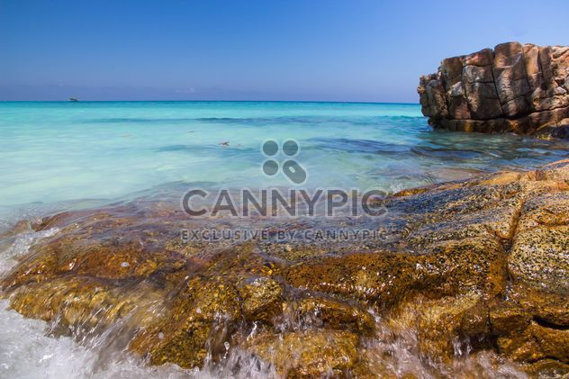 A high-dynamic look to this rocky sea shore - Free image #334247