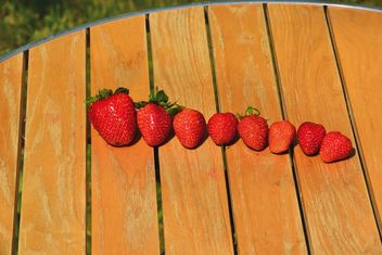 Collected strawberries - image gratuit #334297