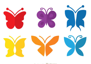 Colorful Butterfly - Free vector #334437