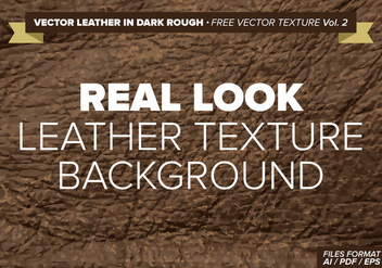 Vector Leather In White Free Vector Texture Vol. 2 - Kostenloses vector #334587