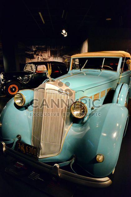 vintage cars in museum - Free image #334837