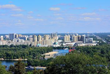 The views of the Dnipro and left shore of Kiev - image gratuit(e) #335077