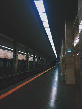 Empty kiev metro station - бесплатный image #335117