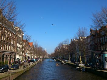 Amsterdam architecture and channels - image gratuit #335217