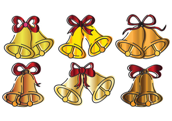 Wedding Bells Vector - vector gratuit #335307