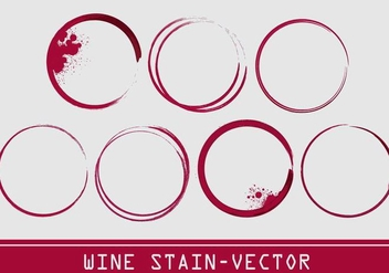 Wine Stain Vector - Free vector #335537