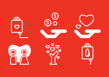 Free Donate Icons #2 - vector #335597 gratis