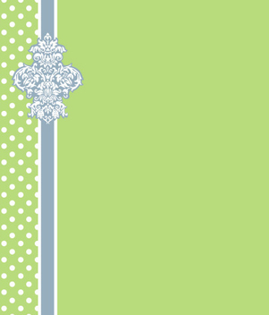 Green Simple Decorative Card - Kostenloses vector #335867
