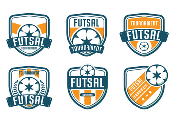 Futsal Logo Tournament - vector #336157 gratis