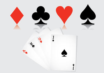 Playing Card Vector - Kostenloses vector #336207