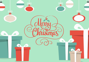 Free Christmas Gifts Vector - Free vector #336257