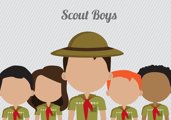 Free Boy Scouts Vector - Free vector #336267