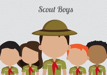 Free Boy Scouts Vector - Kostenloses vector #336267