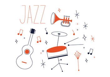 Free Jazz Vector - Kostenloses vector #337027