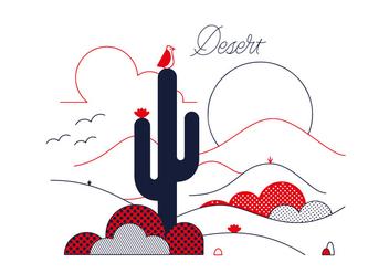 Free Desert Vector - vector gratuit #337047